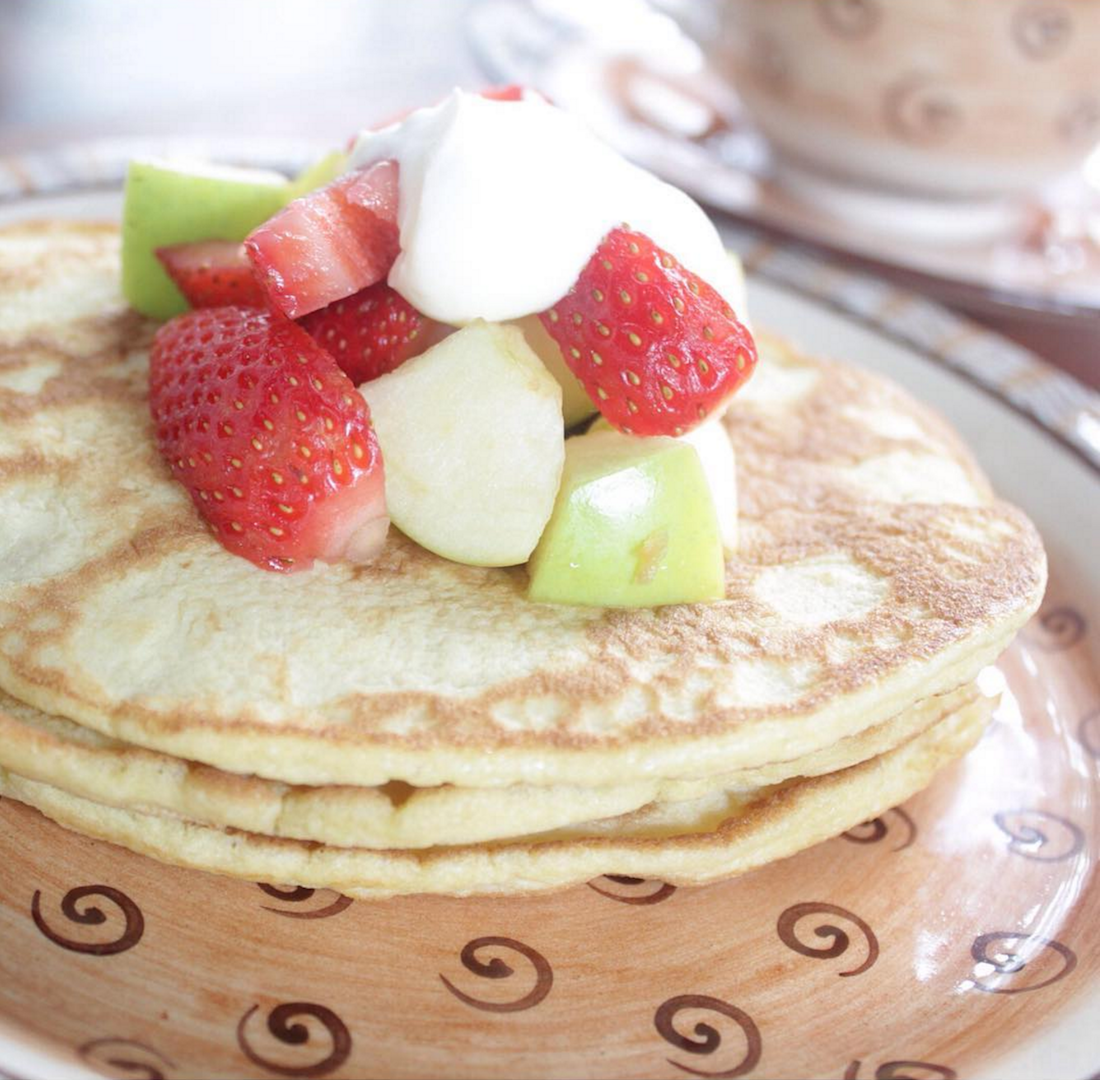 Cinnamon and Coconut Pancakes – Gluten-free